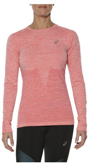 asics Seamless - Camiseta Running Mujer - rosa